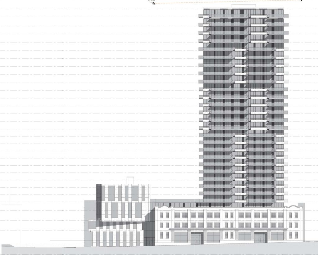 Amacon condo and hotel development rendering
