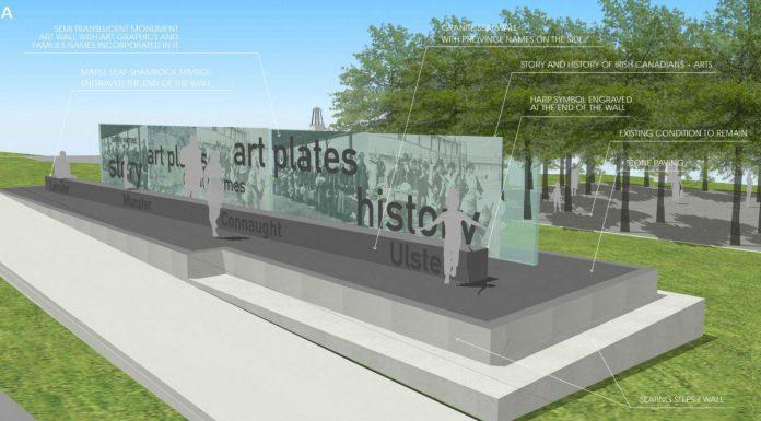 Ireland Canada Monument Design B