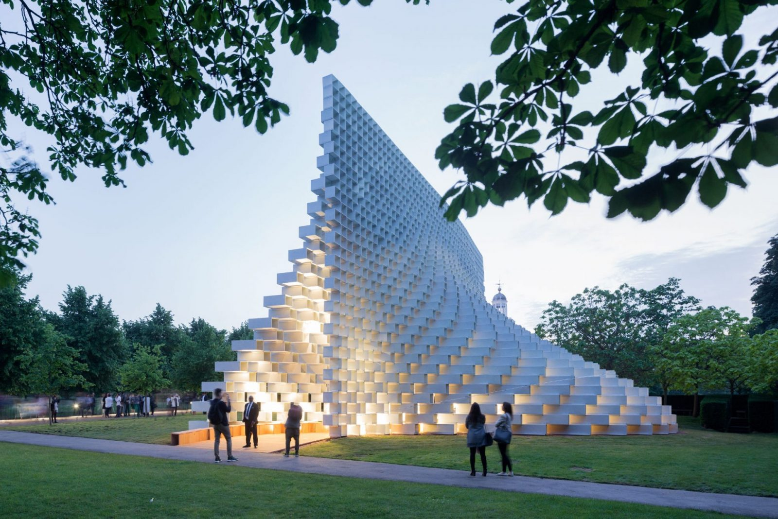 Serpentine Pavilion Finds Permanent Home In Downtown