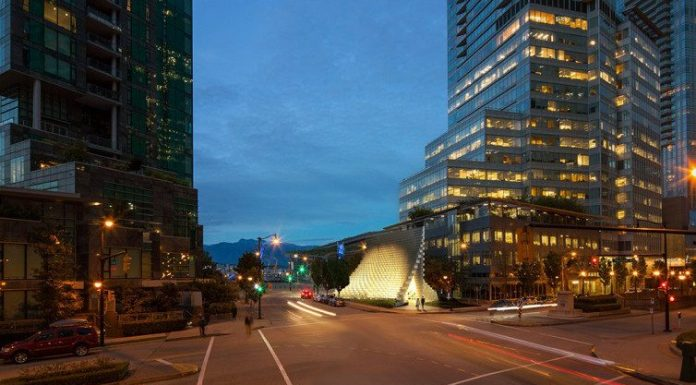 Serpentine Pavilion Vancouver Shaw Tower North