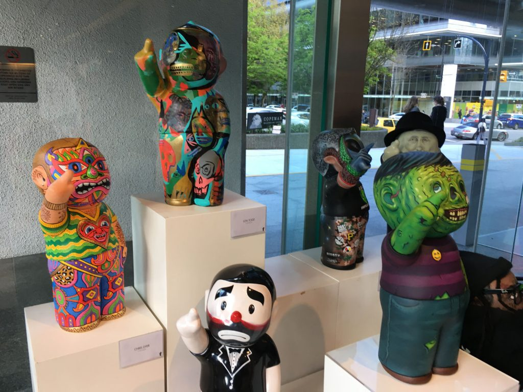 Tian Tian Xiang Shang exhibition