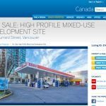 Last remaining gas station in downtown Vancouver also for sale