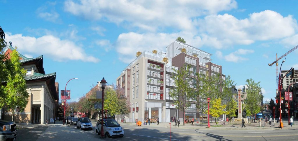 Height of controversial 105 Keefer Street proposal reduced