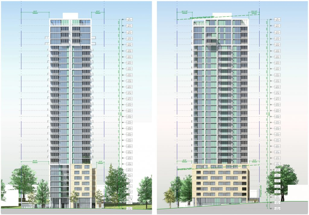 Drawings of 1055 Harwood Street.