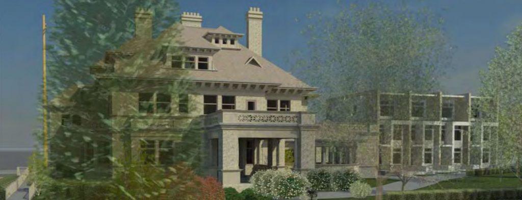 Gabriola House Mansion apartments
