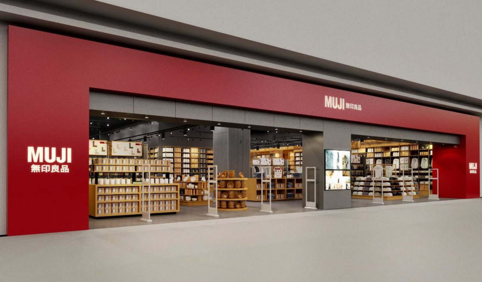 muji opening vancouver area location at metrotown august. Black Bedroom Furniture Sets. Home Design Ideas
