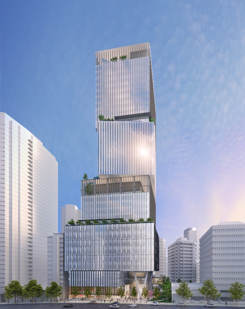 1133 Melville tower design