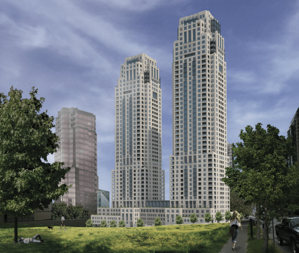 Twin towers designed by NYC architect coming to Coal Harbour