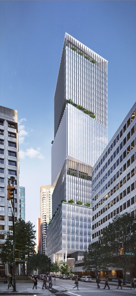 1133 Melville office tower rendering