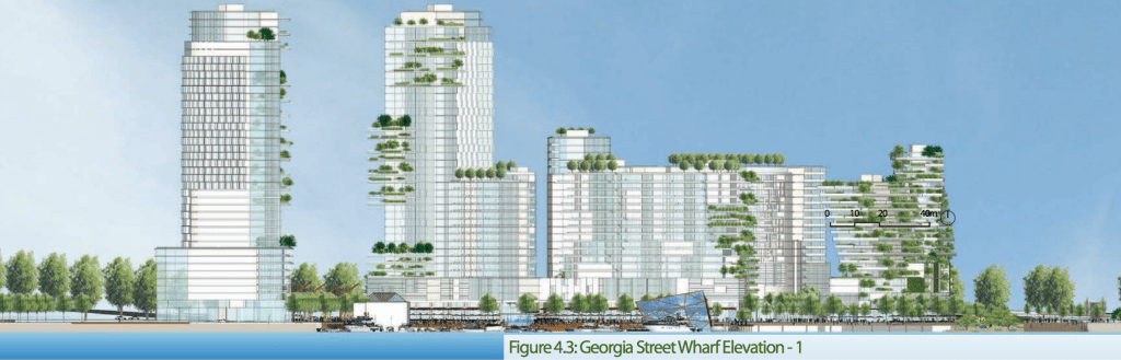 Georgia Street Wharf Elevation