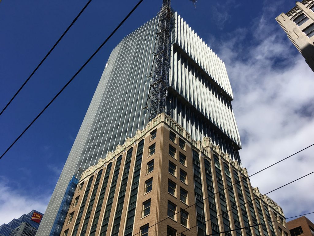 The Exchange office tower leasing