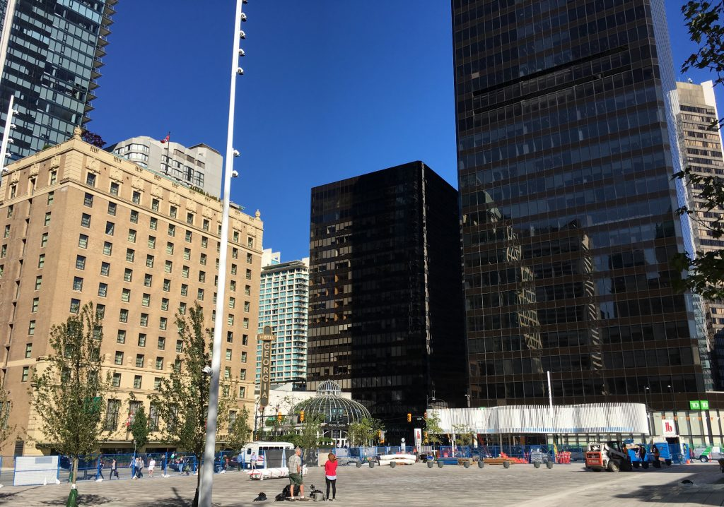 Volunteers wanted to study public spaces in downtown Vancouver