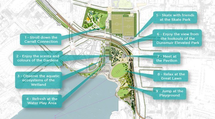 Northeast False Creek plan