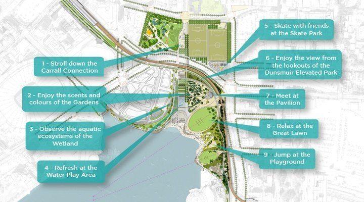 Northeast False Creek plan