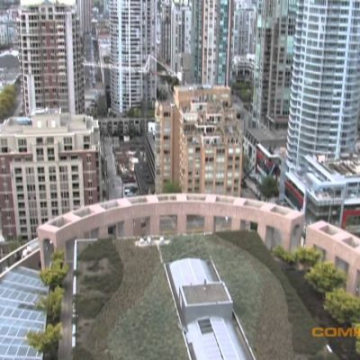 Vancouver Public Library rooftop