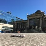 New plaza at Vancouver Art Gallery will be complete this summer