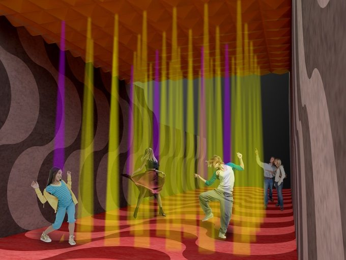 Light and dance rendering