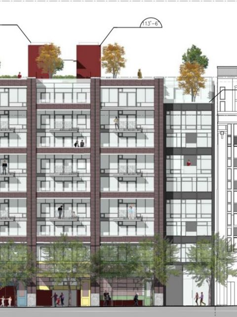 Opponents of Chinatown condos plan protest at open house today