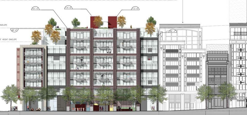 Social housing scrapped from latest 105 Keefer Street plan