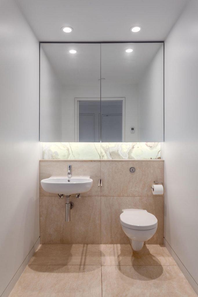 Jameson House half-bath