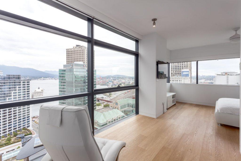 Jameson House floor-to-ceiling windows