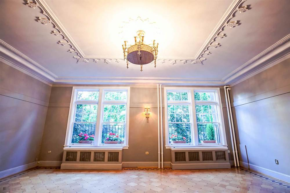 Former ballroom of Queen Charlotte apartment building for sale
