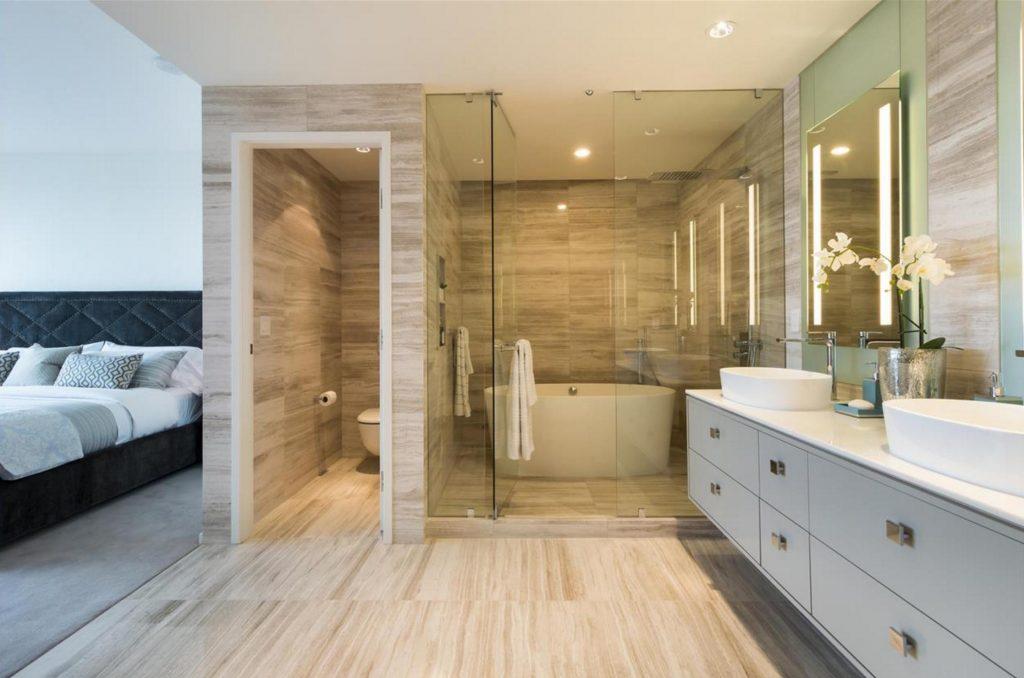 Trump Tower Vancouver listing - master bath