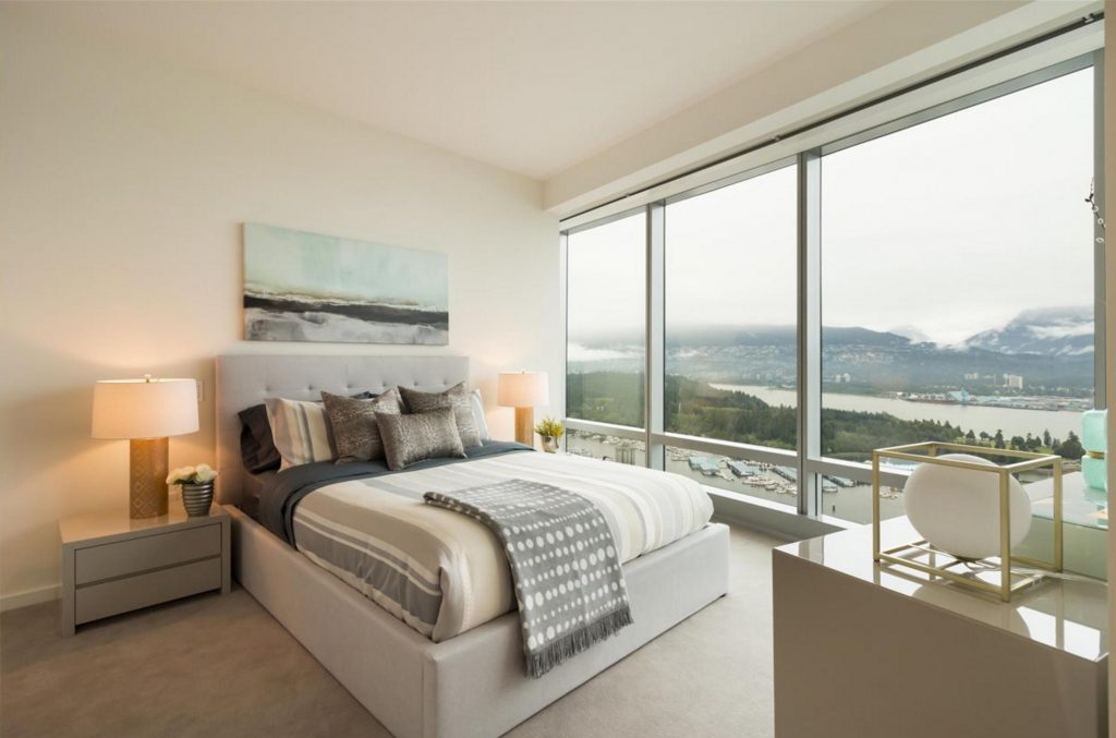 Trump Tower Vancouver listing - bedroom