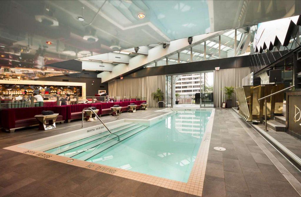 Trump Tower Vancouver listing - Drai's pool