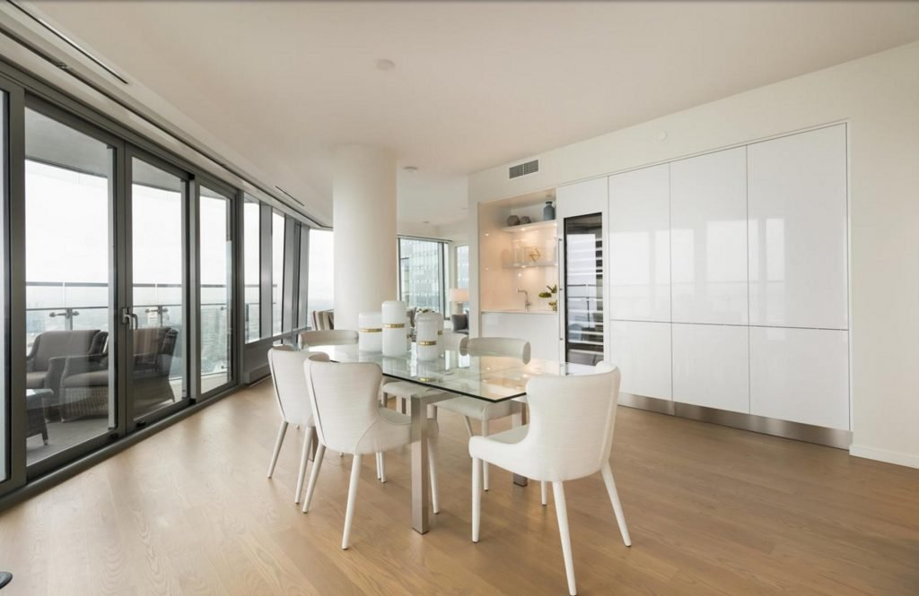 Trump Tower Vancouver listing - wine cooler