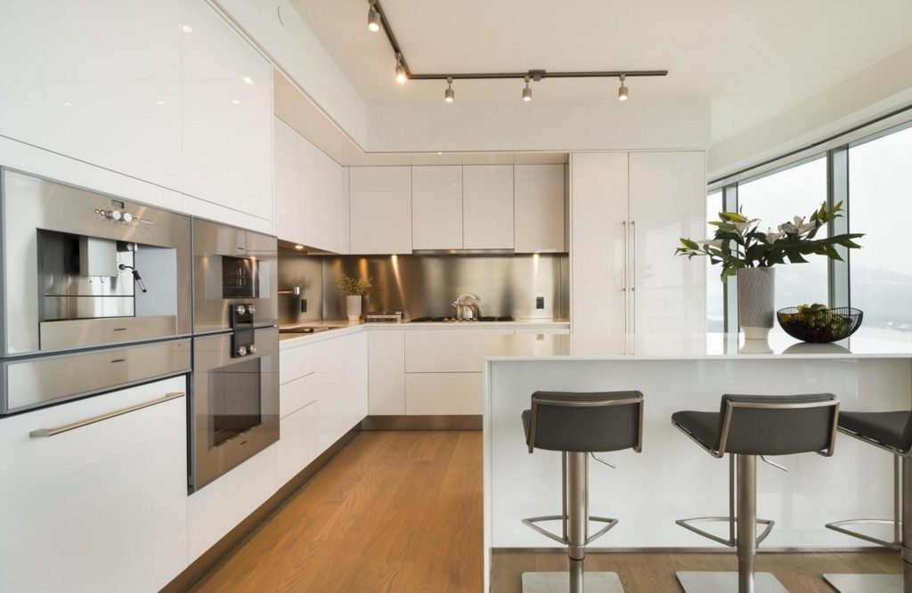 Trump Tower Vancouver listing - kitchen