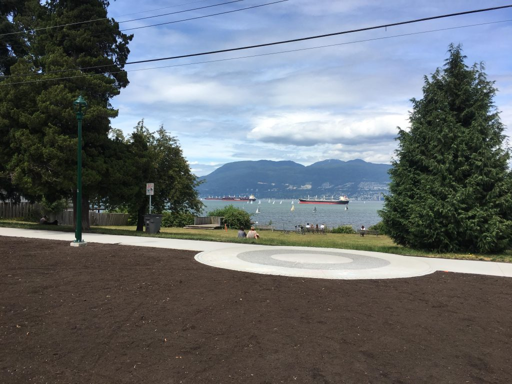 Point Grey Road plazas