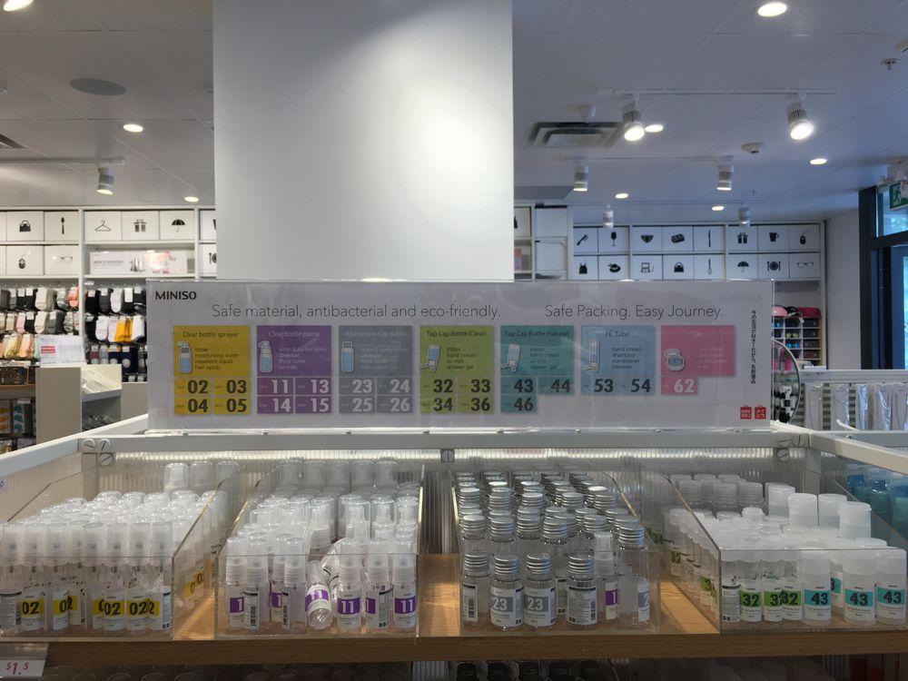MINISO cosmetics