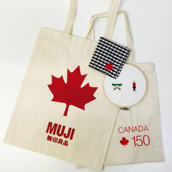 Canada 150 bags from MUJI Canada