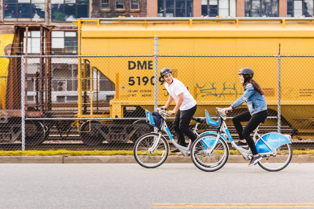 Vancouver bike share Mobi by Shaw Go marks one year anniversary