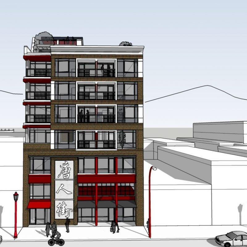 239 Keefer Street rendering