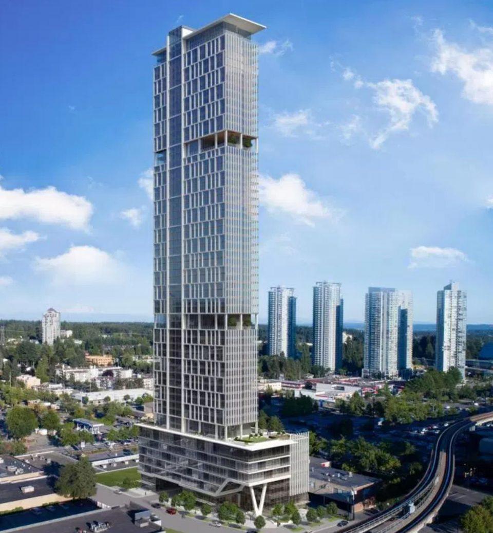 55-storey GEC Education Mega Centre proposed for Surrey