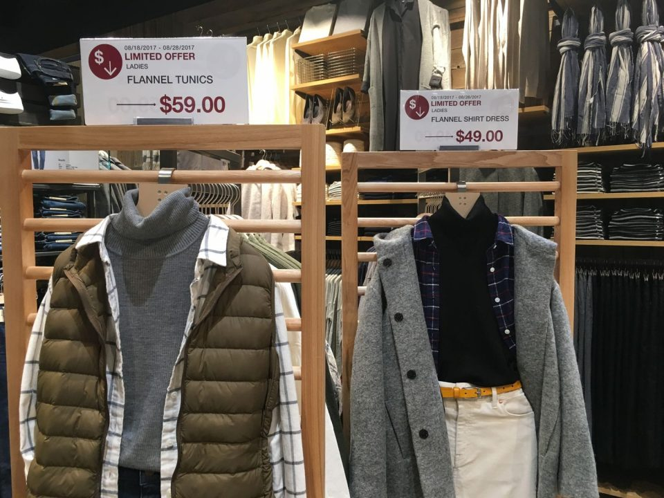 MUJI Ladies clothing