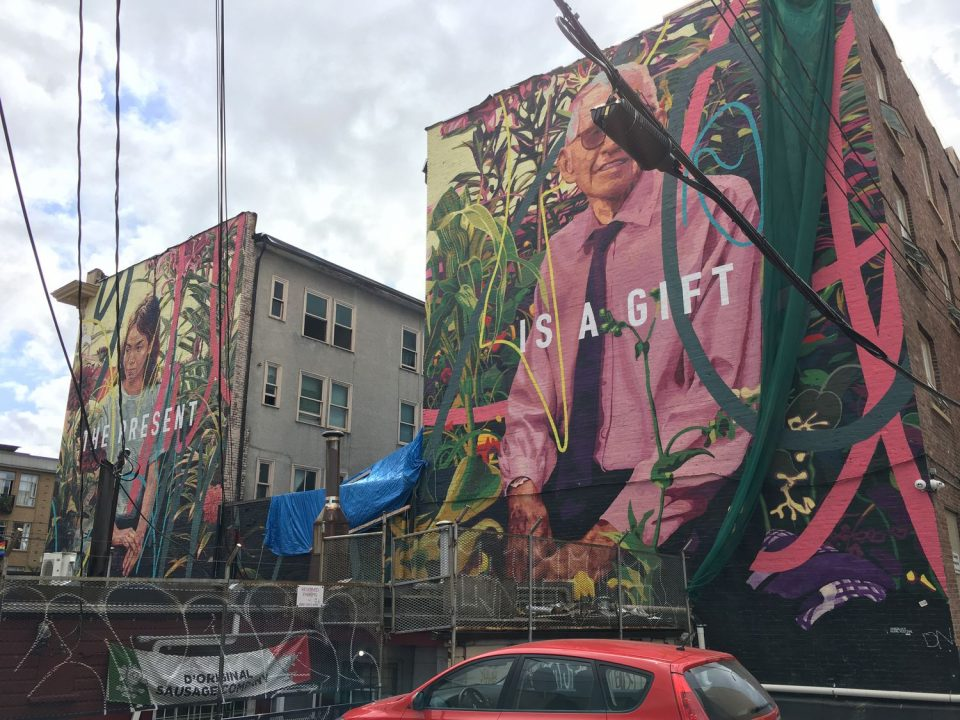 50 new murals showcased at annual vancouver mural festival for Mural vancouver