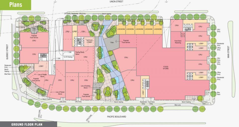 NEFC 800 Main development West Block floor plans