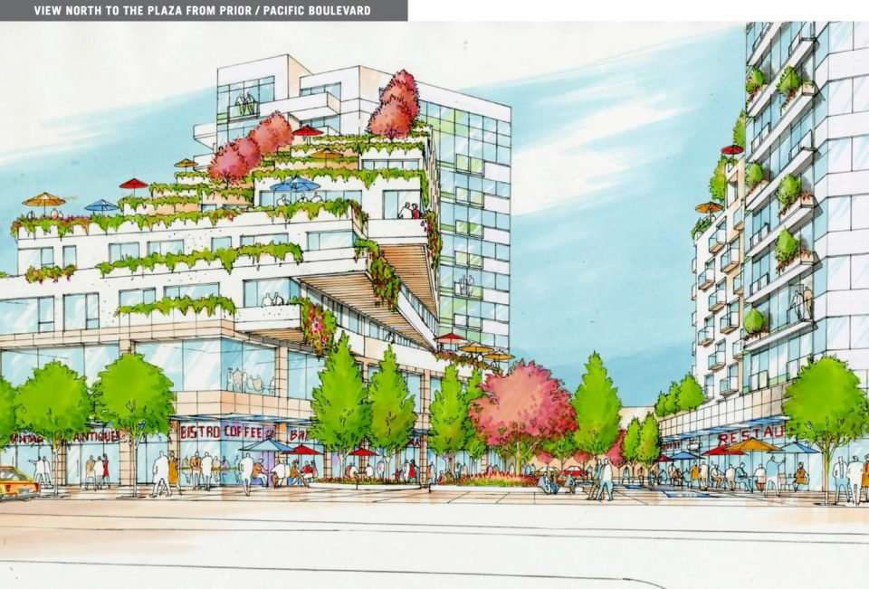 NEFC 800 Main development West Block rendering