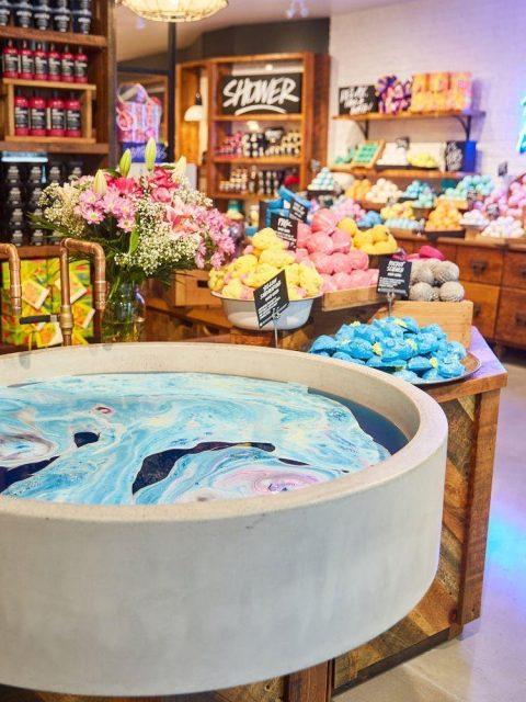 Lush Cosmetics prepares to reopen expanded Robson Street store