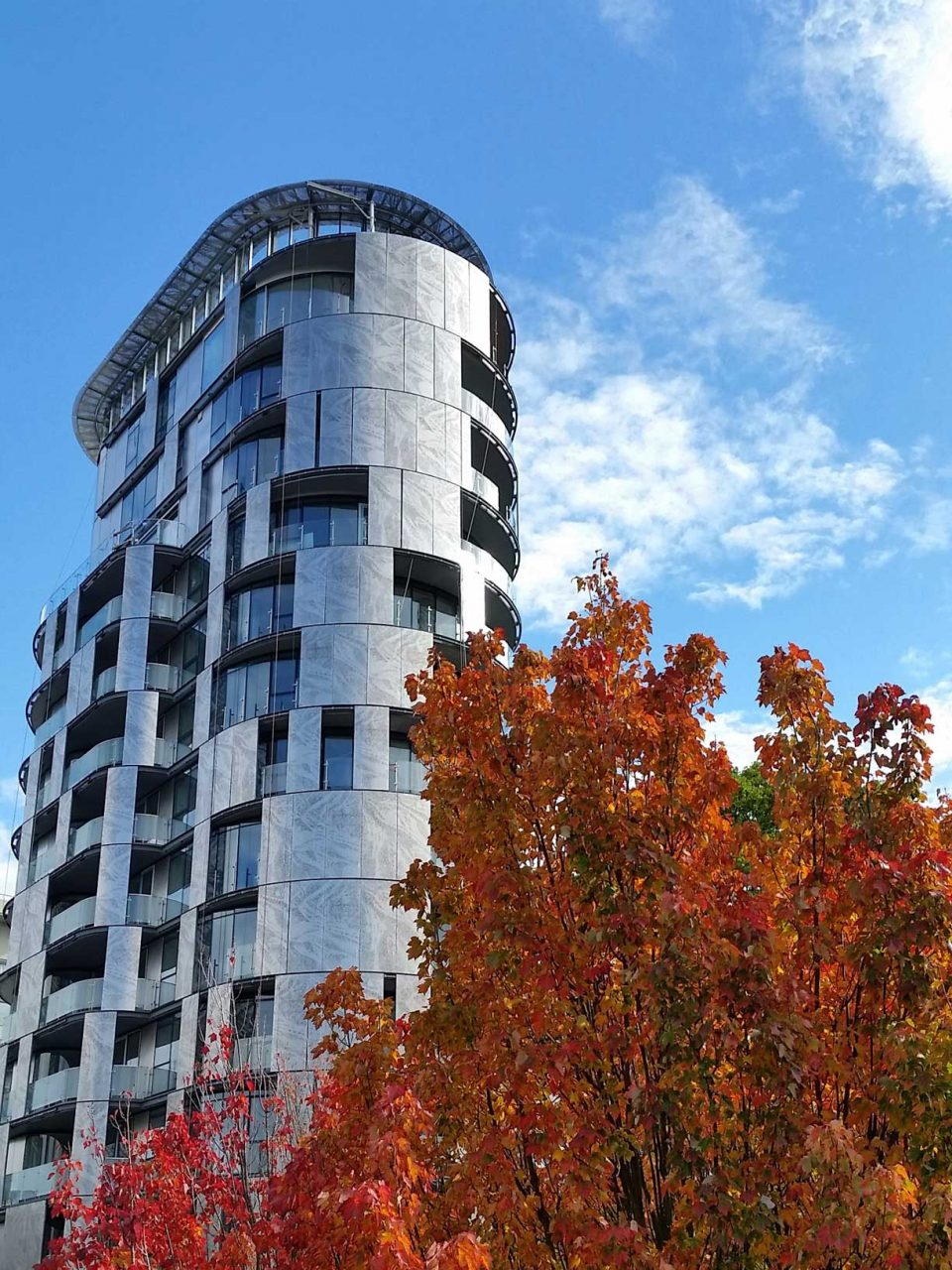 1245 Harwood Vancouver exterior in autumn