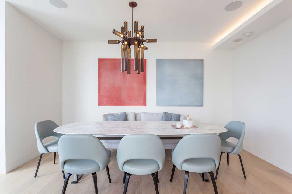1245 Harwood Vancouver dining room