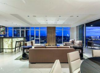 1372 Seymour Penthouse home bar