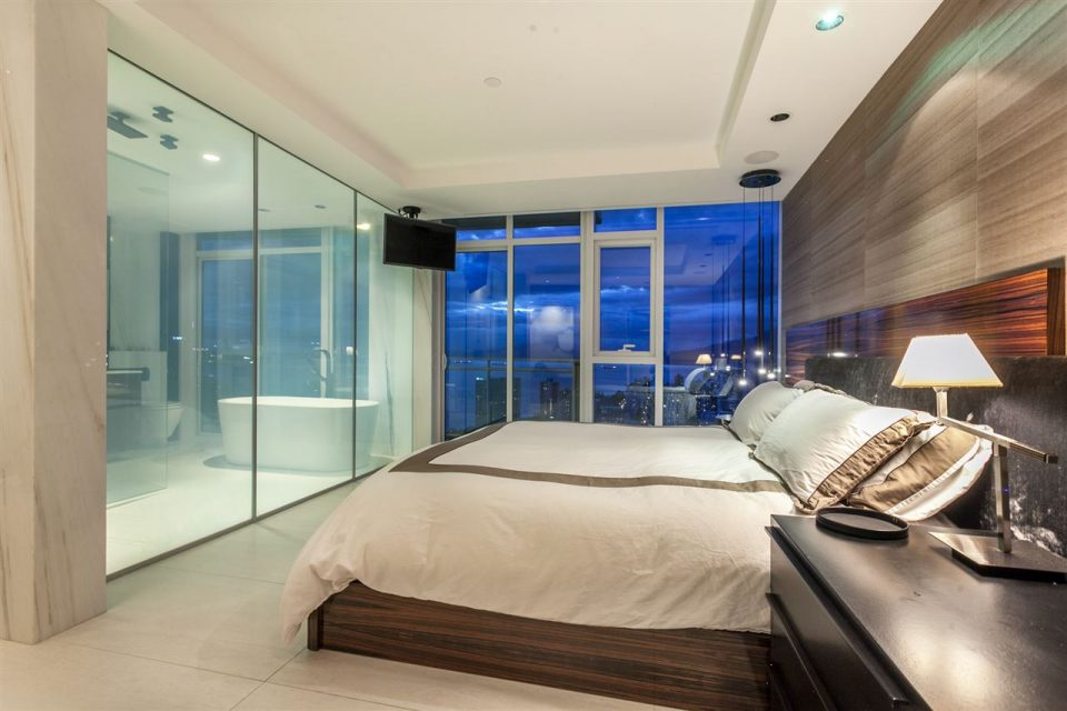 1372 Seymour Penthouse bedroom