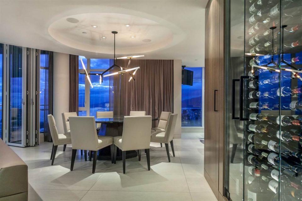 1372 Seymour Penthouse dining area