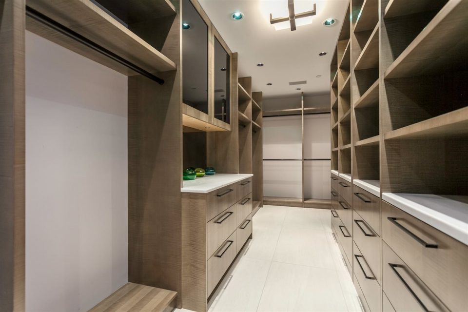 1372 Seymour Penthouse walk in closet