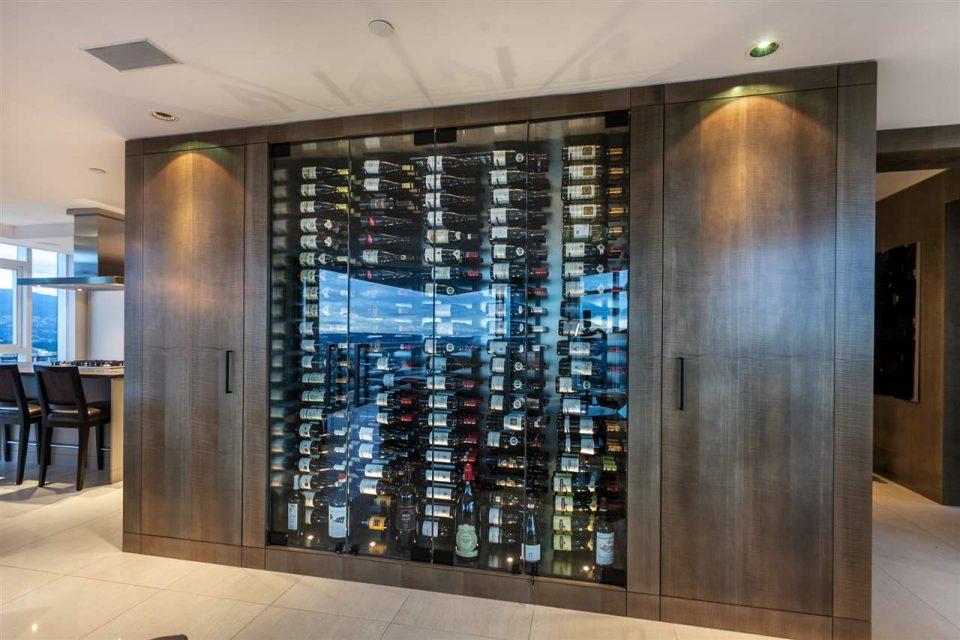 1372 Seymour Penthouse wine storage