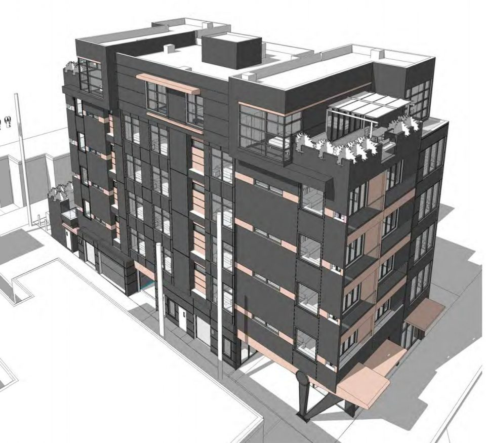 138 East 8th Avenue rendering laneway